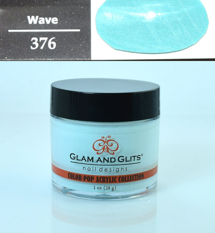 Glam & Glits - Color Pop Acrylic Powder 1 oz - CPA376 WAVE