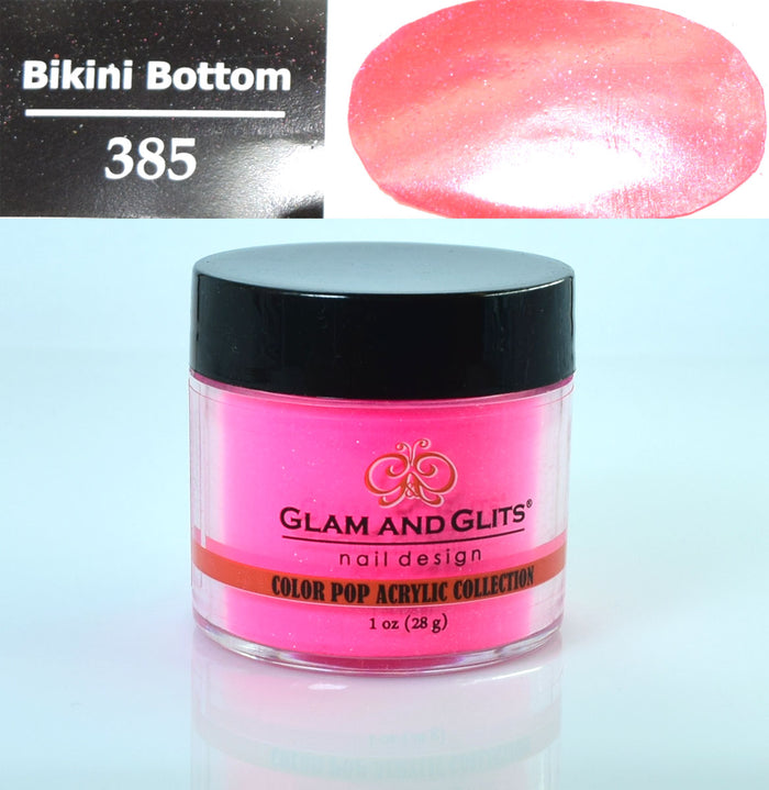 Glam & Glits - Color Pop Acrylic Powder 1 oz - CPA385 BIKINI BOTTOM