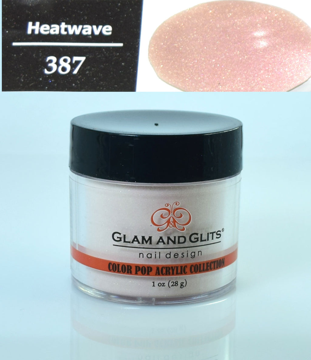 Glam & Glits - Color Pop Acrylic Powder 1 oz - CPA387 HEATWAVE