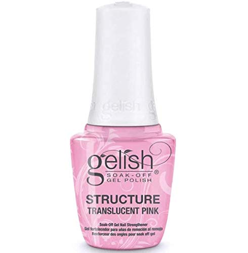 Gelish Soak Off Nail Strengthener Structure Translucent Pink 0.5 fl oz