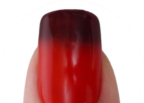 Lechat Dare To Wear Mood Changing Nail Lacquer  - DWML44 - Timeless Ruby