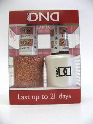 DND - Soak Off Gel Polish & Matching Nail Lacquer Set - #462 DESERT SPICE