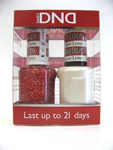 DND - Soak Off Gel Polish & Matching Nail Lacquer Set - #470 LOVE LETTER