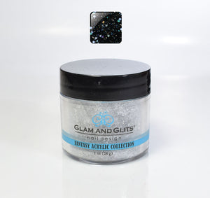 Glam & Glits - Fantasy Acrylic Powder 1 oz - FAC537 DARK DARE