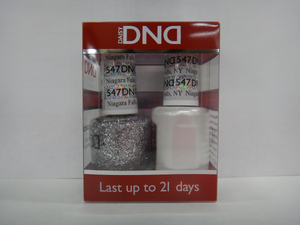 DND - Soak Off Gel Polish & Matching Nail Lacquer Set - #547 NIAGARA FALLS, NY
