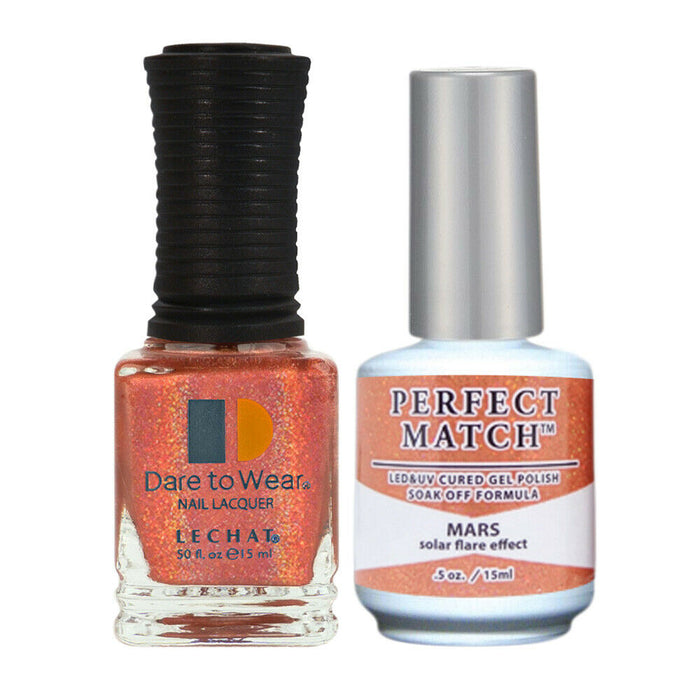 LeChat Perfect Match Spectra Soak off Gel + Nail Lacquer #SPMS08 Mars