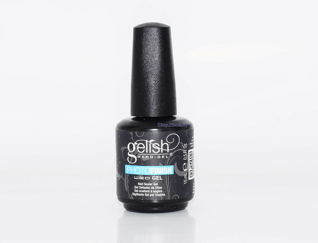 Gelish Hard Gel LED 0.5 Fl. Oz - Photo Finish Nail Sealer Gel