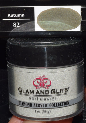 Glam & Glits - DIAMOND Acrylic Powder 1 oz - DAC82 AUTUMN