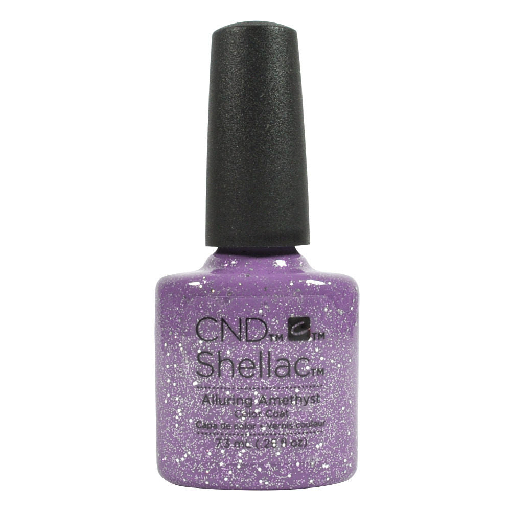 CND Shellac UV Soak off Gel Polish 0.25 oz | Alluring Amethyst
