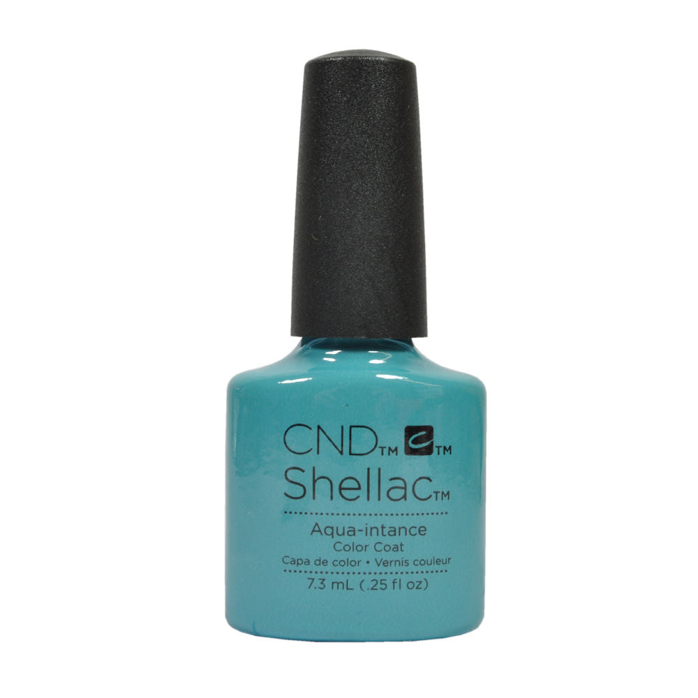 CND Shellac UV Soak off Gel Polish 0.25 oz | Aqua-intance