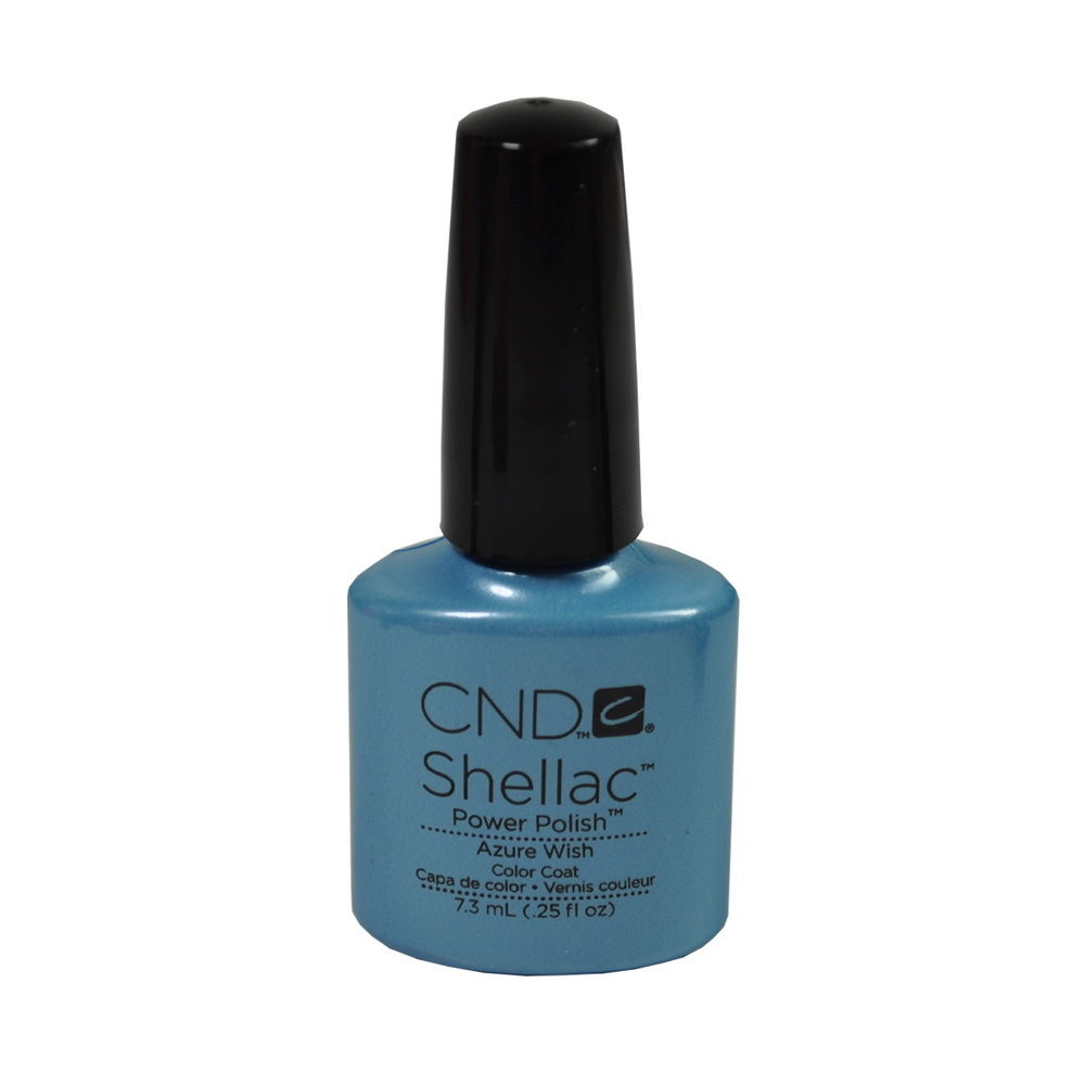CND Shellac UV Soak off Gel Polish 0.25 oz | Azure Wish