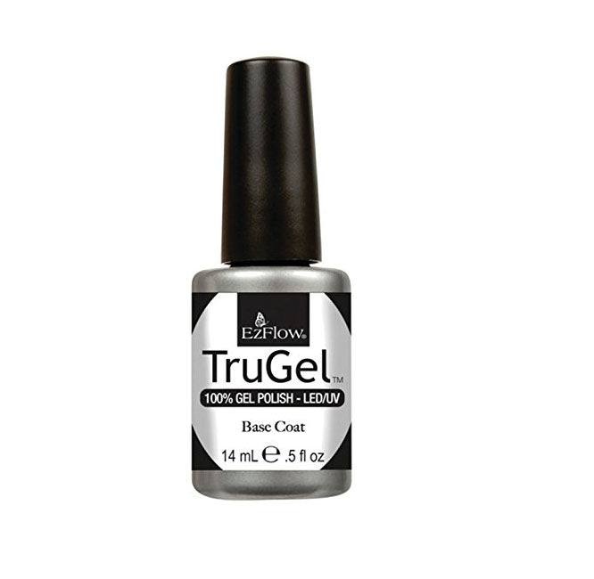 EzFlow TruGel Soak Off Gel BASE COAT UV/LED 0.5 fl oz