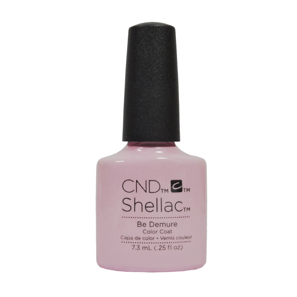 CND Shellac UV Soak off Gel Polish 0.25 oz | Be Demure