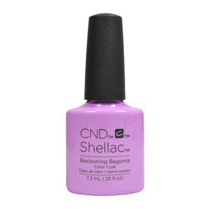 CND Shellac UV Soak off Gel Polish 0.25 oz | Beckoning Begonia