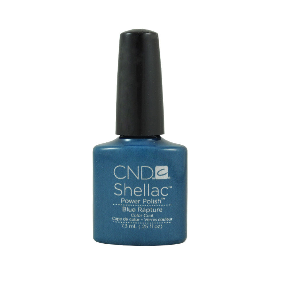 CND Shellac UV Soak off Gel Polish 0.25 oz | Blue Rapture