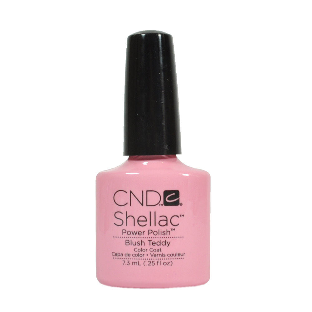 CND Shellac UV Soak off Gel Polish 0.25 oz | Blush Teddy