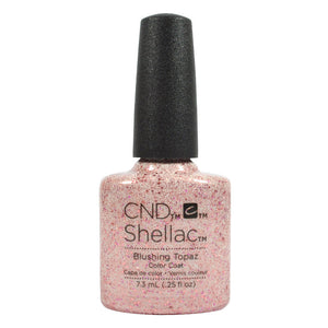 CND Shellac UV Soak off Gel Polish 0.25 oz | Blushing Topaz