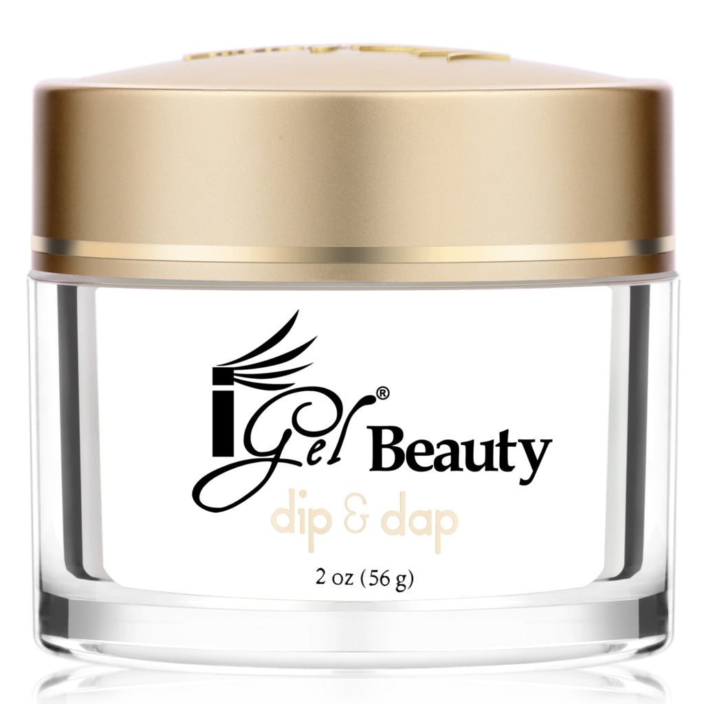 IGel Beauty Dip & Dap Powder 2 oz - DP2 FRENCH WHITE