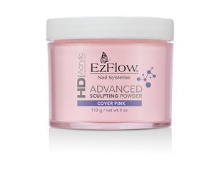 EzFlow HD Acrylic advanced Sculpting Powder | 4 oz Cover Pink