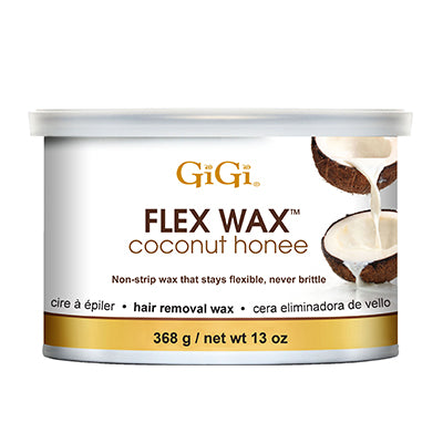 Gigi Wax Pot 14 oz | FLEX WAX COCONUT HONEE