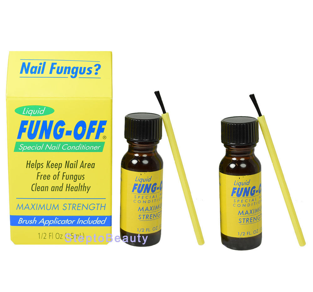 FUNG-OFF® Special Nail Conditioner For Nail Fungus Treatment 0.5 fl oz (pack of 2)