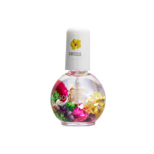 Blossom Scented Cuticle Oil Infused With Real Flowers 0.42 fl oz - HIBISCUS