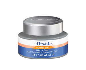IBD Hard Gel LED/UV Gel 0.5 oz  - CLEAR