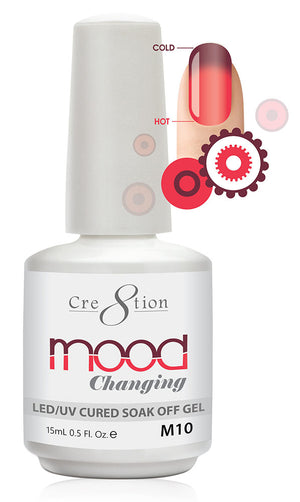 Cre8tion Mood Changing Soak Off Gel UV/LED 0.5 fl oz - M10