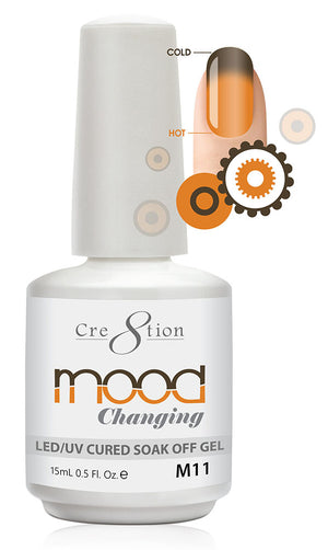 Cre8tion Mood Changing Soak Off Gel UV/LED 0.5 fl oz - M11