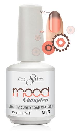 Cre8tion Mood Changing Soak Off Gel UV/LED 0.5 fl oz - M13