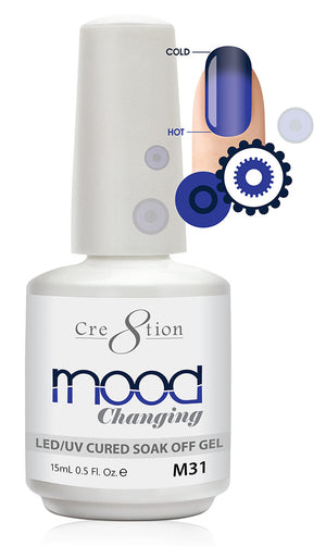 Cre8tion Mood Changing Soak Off Gel UV/LED 0.5 fl oz - M31