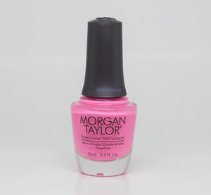 Morgan Taylor Professional Nail Lacquer 0.5 Oz #3110916 MAKE YOU BLINK PINK