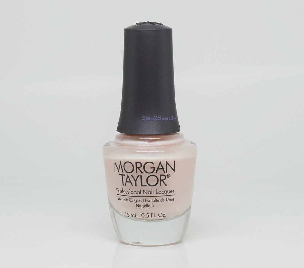 Morgan Taylor Professional Nail Lacquer 0.5 Oz #3110999 SHEER & SILK
