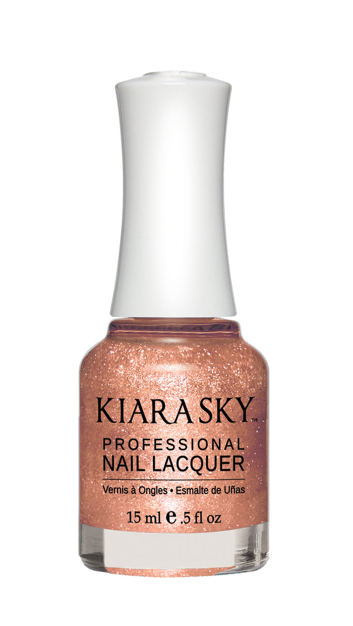 Kiara Sky Nail Lacquer 0.5 fl oz - N470 COPPER OUT
