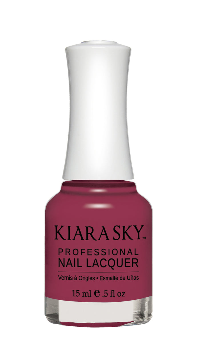 Kiara Sky Nail Lacquer 0.5 fl oz - N485 PLUM IT UP