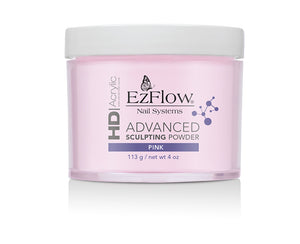EzFlow HD Acrylic advanced Sculpting Powder | 4 oz PINK