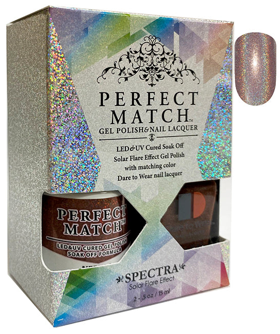 LeChat Perfect Match Spectra Soak off Gel + Nail Lacquer #SPMS14 Nebula