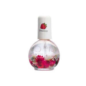 Blossom Scented Cuticle Oil Infused With Real Flowers 0.42 fl oz - STRAWBERRY