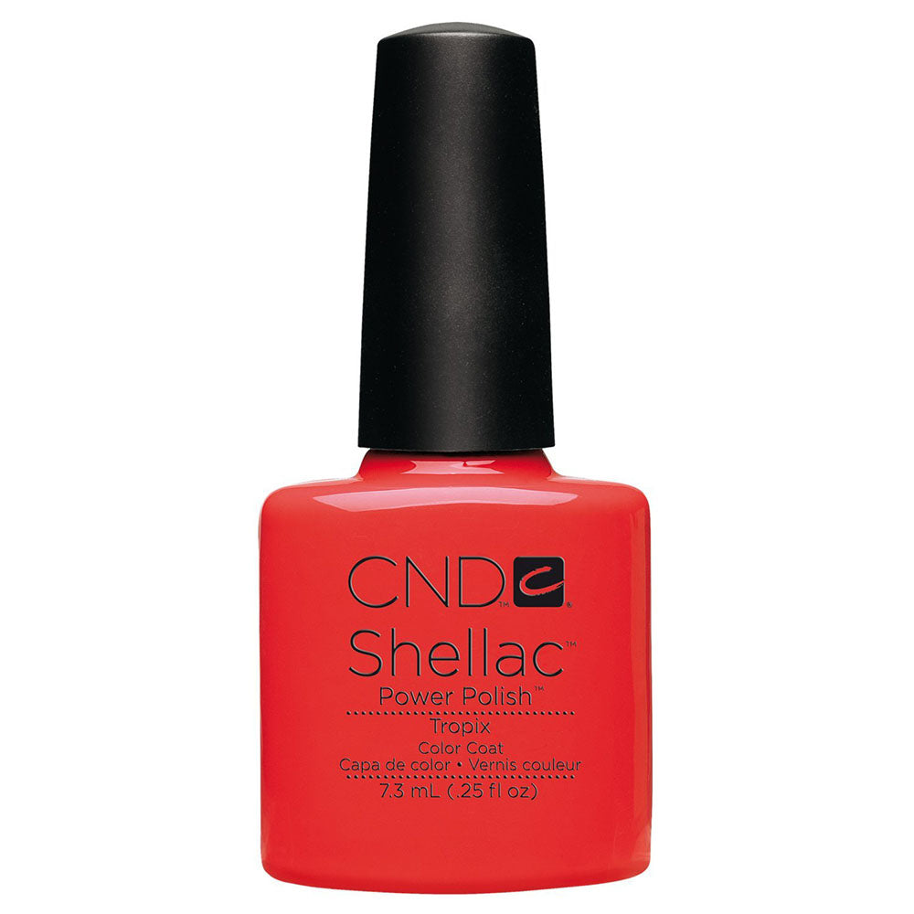 CND Shellac UV Soak off Gel Polish 0.25 oz | Tropix