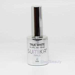 Sumika Soak Off Gel Polish UV/LED 0.5 oz | TRUE WHITE