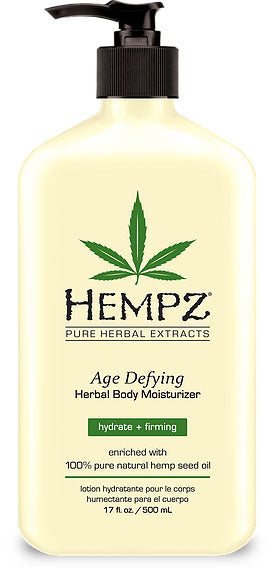 Hempz Lotion Pure Herbal Body Moisturizers 17 fl oz - AGE DEFYING