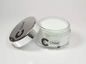 Chisel Nail Art 2 in 1 Acrylic/Dipping Powder 2 oz - AMERICAN WHITE