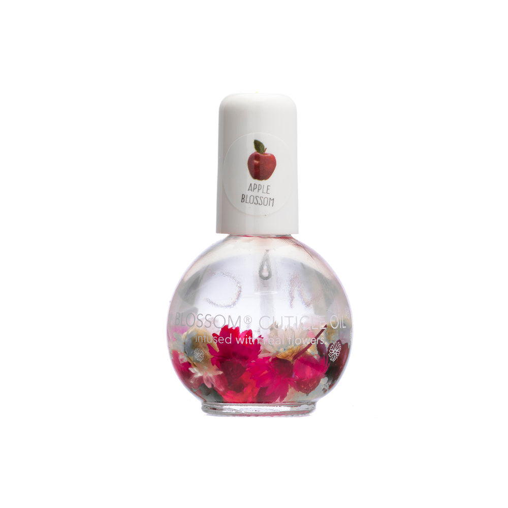 Blossom Scented Cuticle Oil Infused With Real Flowers 0.42 fl oz - APPLE BLOSSOM