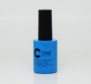 Chisel Nail Art - BLACK DIAMOND - BASE GEL 0.5 oz