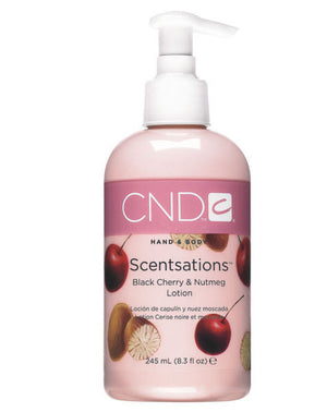 CND Hand & Body Scentsations Lotion 8.3 fl oz - Black Cherry & Nutmeg