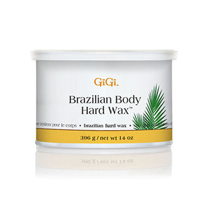 Gigi Wax Pot 14 oz | BRAZILIAN BODY HARD WAX (pack of 4)