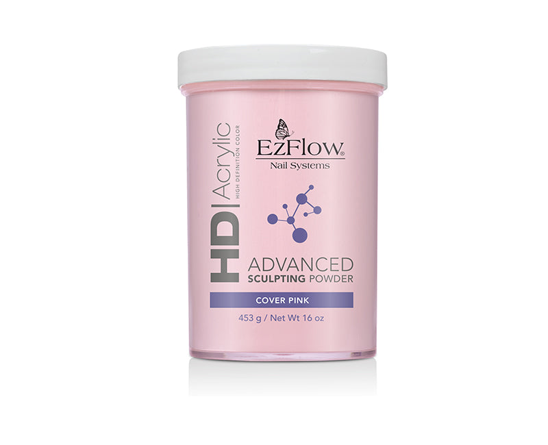 EzFlow HD Acrylic advanced Sculpting Powder | 16 oz Cover Pink