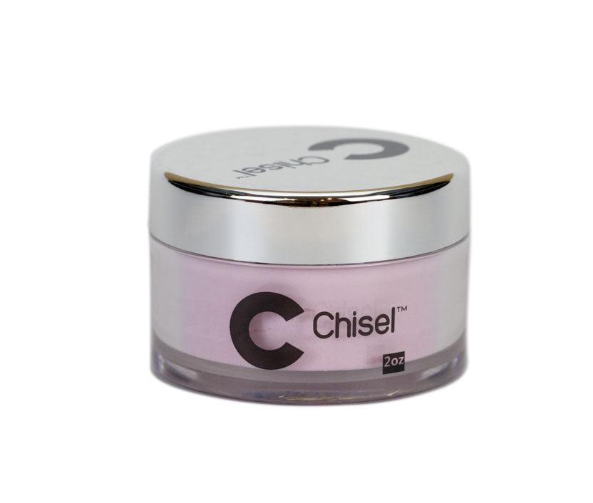 Chisel Nail Art 2 in 1 Acrylic/Dipping Powder 2 oz - Dark Pink
