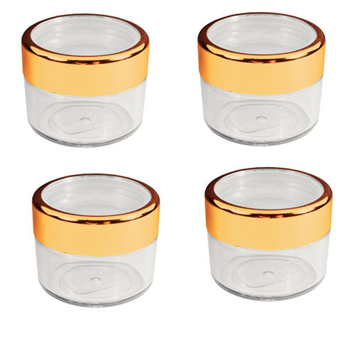 FantaSea Twist Cap Jar with Gold Rim - 18ml/.61 oz. FSC397