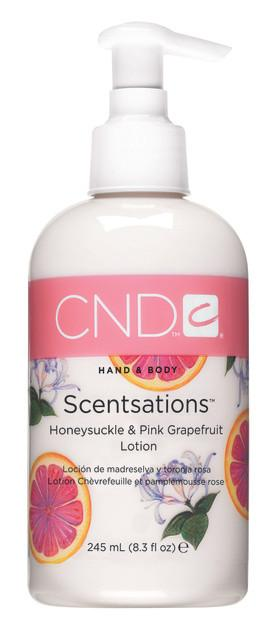 CND Hand & Body Scentsations Lotion 8.3 fl oz - Honeysuckle & Grapefruit
